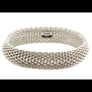 Tiffany Somerset Narrow Bangle Sterling Silver